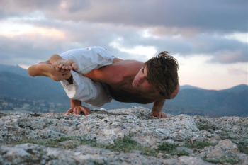 Athletes often see the benefits of visualization even if they do Hatha Yoga.