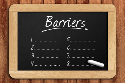 Do affirmations work?  You can list out the barriers you have to effective affirmations.