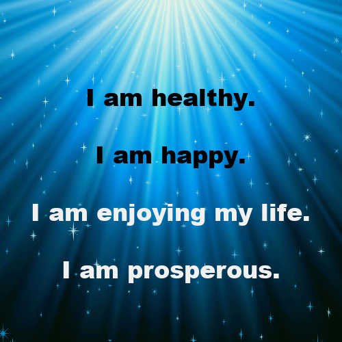 A prosperous, at ease mental body would easily go to beliefs such as,
