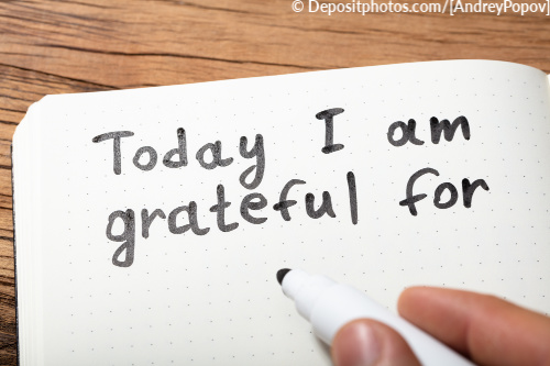 Creating a gratitude list will help you appreciate and become aware of more and more opportunities.