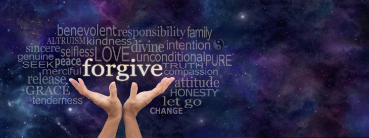 Photo containing possible ways of being as you play with how to forgive someone.