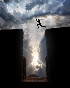 When exploring how to use positive affirmations, you sometimes have to take a leap of faith.  That leap of faith can often come in the form of wonder.