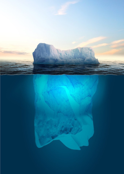 To make money visualization, it is a good idea to work on releasing any negative subconscious beliefs you begin to notice.  Subconscious beliefs are like icebergs - they lie under the surface...