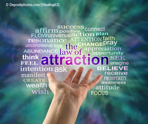 Focus on what you want with the law of attraction and prosperity at your fingertips.