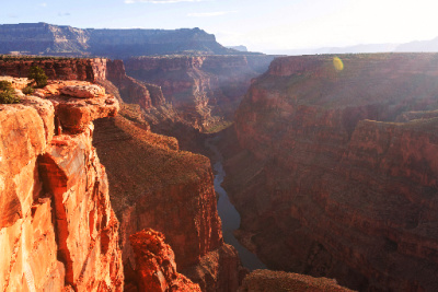 Use the beauty of the Grand Canyon to help you get into the best state before using the law of gratitude.