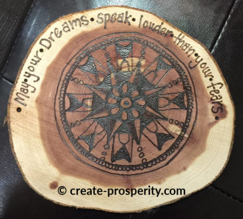 Part of prosperity self help is about investing in your passions.