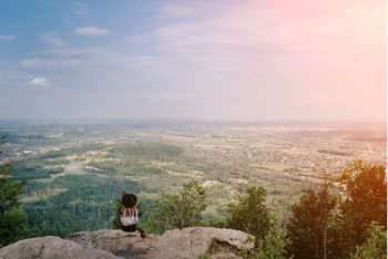Restoring and maintaining balance, in the mental body, is a journey.  The journey can be as beautiful as sitting on the mountain top looking out over the landscape.
