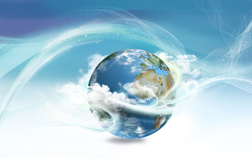 Sekhem Seichem Reiki is a form of Reiki that can allow you to create worlds of possibility as symbolized by this photo of Earth.
