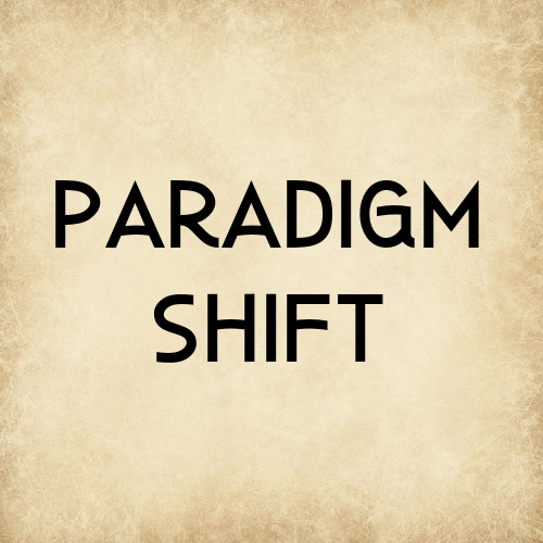 When you are tithing while in debt, you can use that circumstance as an opportunity to create a paradigm shift.