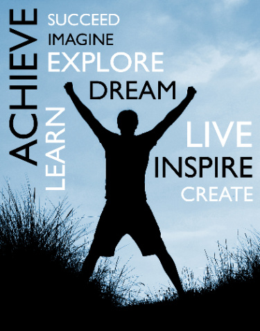 You can use the visualization stories on this page to help inspire you to learn, act, achieve,dream, create, and live.